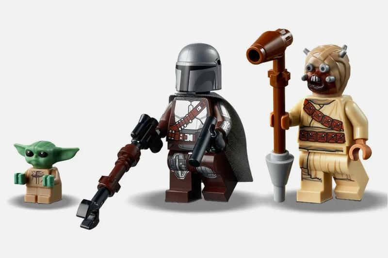 Lego The Mandalorian Trouble On Tatooine Set Hypebeast It is an honored creature to hunt, although we must a krayt dragon rests within, and tonight he is the hunted, although by unorthodox means. lego the mandalorian trouble on