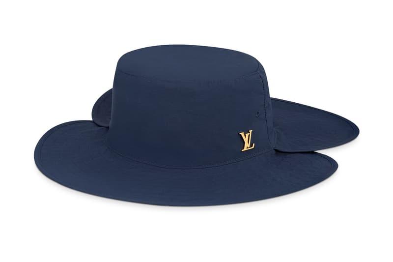 Louis Vuitton Hiking Hat Release Parisian fashion style hats accessories headwear LV Fashion sun hiking outdoors style hypebeast Parisian Paris French LVMH