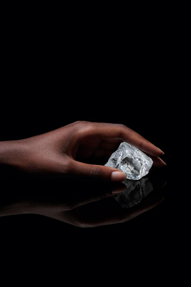 """Louis Vuitton's 549-Carot Diamond """"Sethunya"""" hb antwerp botswana lucara karowe"""