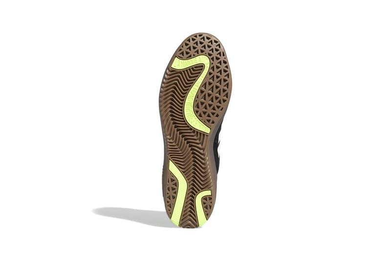"Lucas Puig x adidas Skateboarding PUIG ""Core Black / Cloud White / Gum"" FV5932 Skate Shoe Release Information Drop Date Closer First Look Suede Terrace Culture Premium Leather Three Stripes"