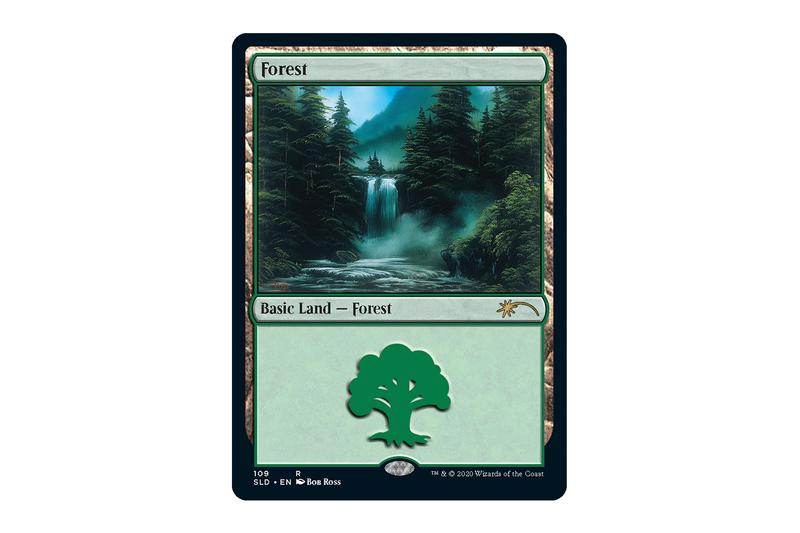 "'Magic: The Gathering' Enlists the Artwork of the Late Bob Ross for ""Secretversary"" 2020 Secret Lair paintings landscape art"