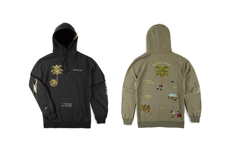 maharishi london fall winter 2020 embroidery vietnamese jackets coat trousers sweatshirts hoodie tee tapestries