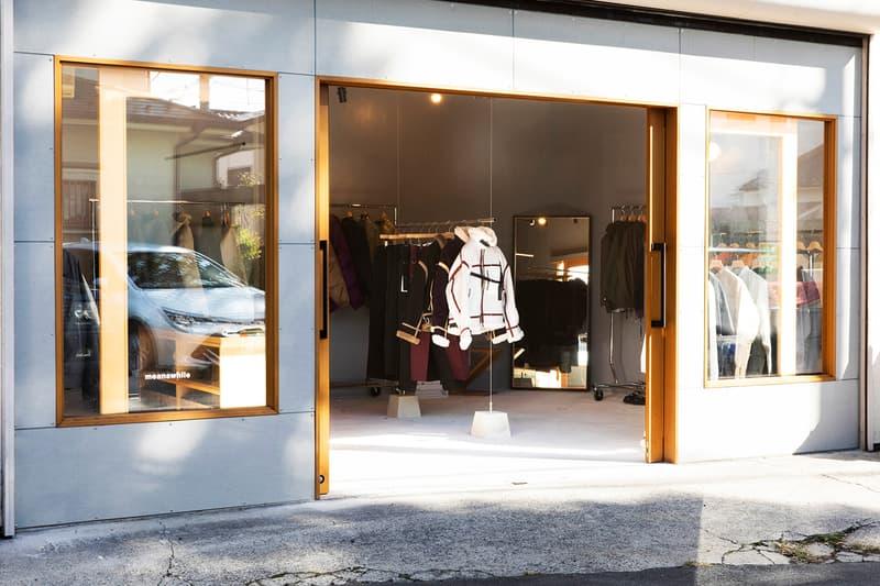MEANSWHILE Opening First Tokyo Flagship store shop space interiors Naohiro Fujisaki Komazawa japan japanese Setagaya ku menswear streetwear brick and mortar