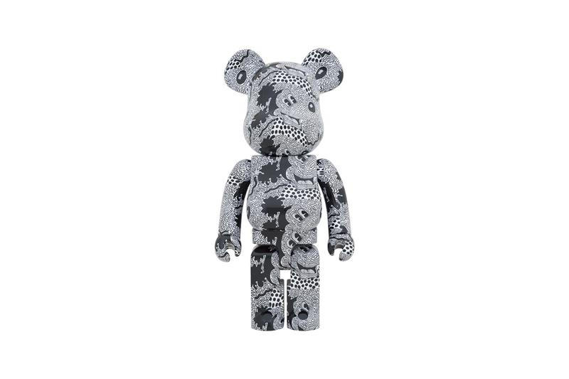 Medicom Toy BEARBRICK Keith Haring Mickey Mouse 1000 100 400 toys toymaker figures japanese brand