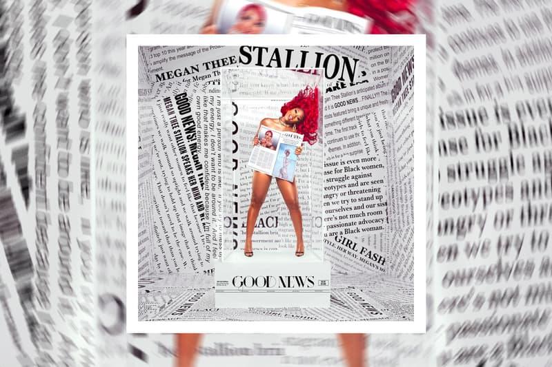 Megan Thee Stallion Good News album Announcement tory lanez fever hot girl meg tina snow