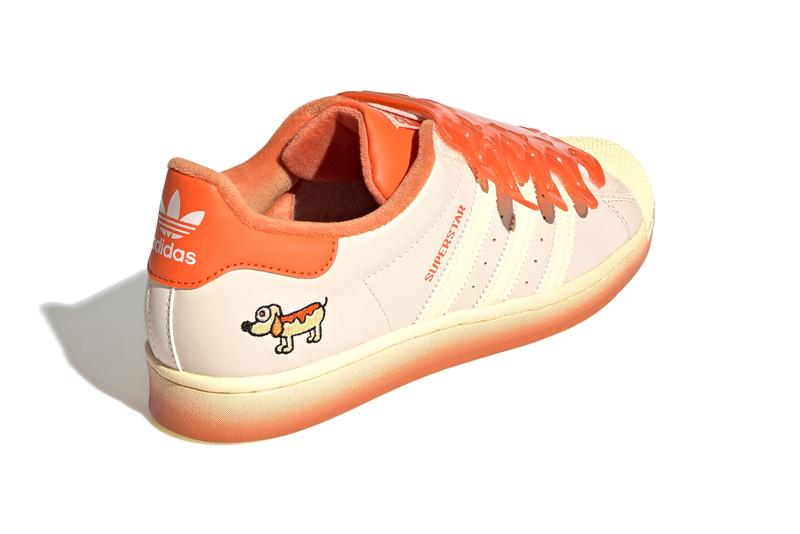 Melting Sadness x adidas Originals Superstar Classic 80s TR Pro Model Zhang Quan Chinese Artist Label Collection Collaboration Limited Edition Fun Sneakers Shoes Trainers Three Stripes OG FZ5256 FZ5254 FZ5260 FZ5398