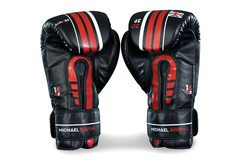 Michael Bisping Sanabul LegacyBoxing Gloves the count ufc fighting mma UK Manchester boxing gloves