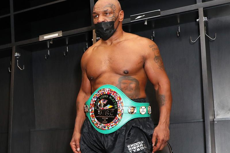 Mike Tyson Roy Jones Jr. Competitive Exhibition Match Result Draw Info Boxing WBC