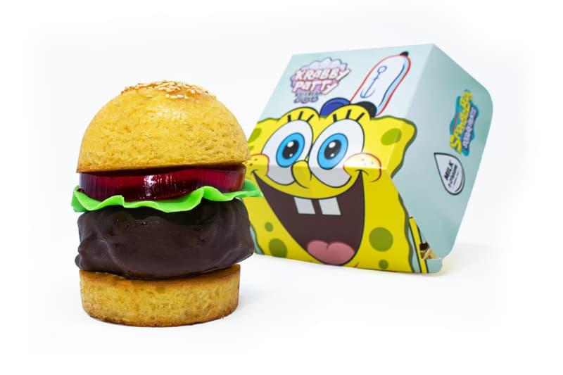 Milk Cream Cereal Bar Spongebob Squarepants Krabby Patty Ice Cream Sliders info food burger mr krabs krusty cartoon franchise Nickelodeon