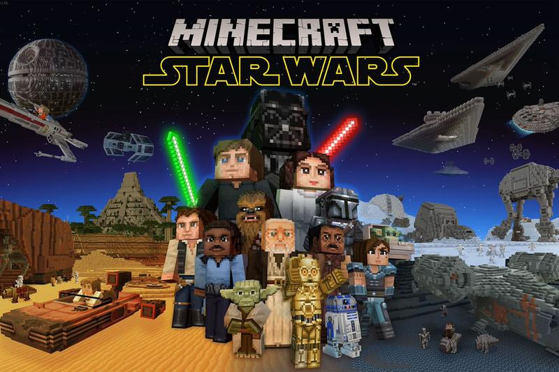 microsoft xbox games studios mojang minecraft star wars the mandalorian dlc downloadable content pack