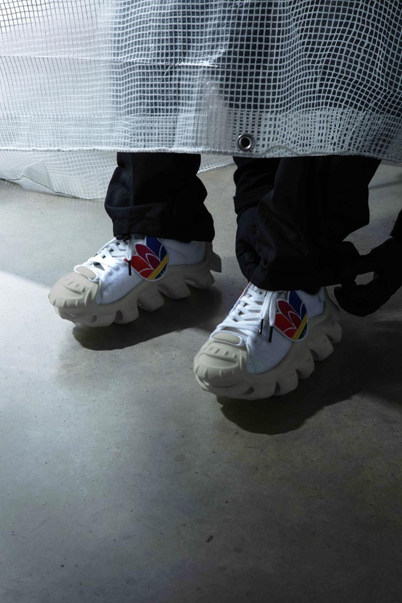 """Mr. Bailey x adidas Originals """"Ammonite Superstar:"""" the Evolution of the Shell Toe Octopus Catalyst for Change Program Three Stripes Collaboration Artwork Wearable Sculpture Future Footwear Sneaker"""