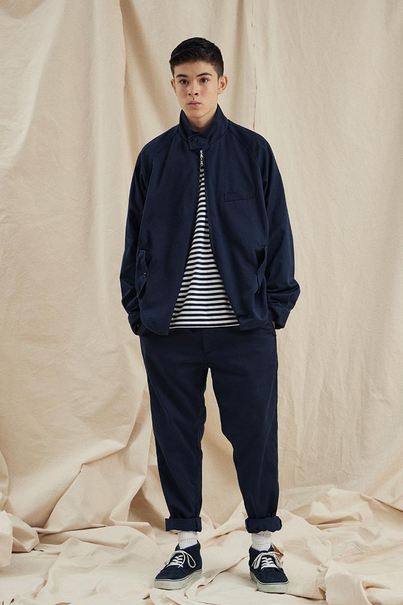nanamica Spring Summer 2021 Lookbook menswear streetwear japanese brands jackets hoodies sweaters pants trousers ss21 collection