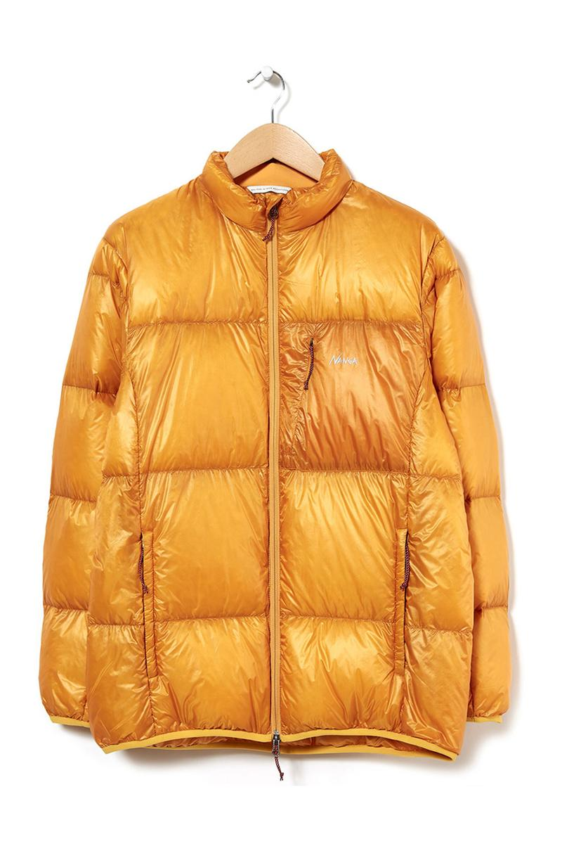 Nanga mountain lodge down jacket release information outsiders store