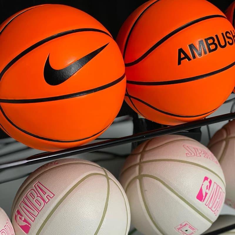 NBA x AMBUSH x Nike Collaboration Teaser collection release date info buy yoon ahn basketball bag