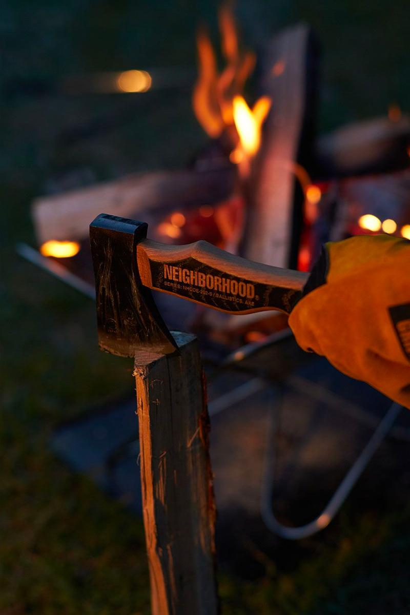 NEIGHBORHOOD HOME OUTDOOR Collection NBHD GRIP SWANNY camping gardening axe hatchet fire outdoors