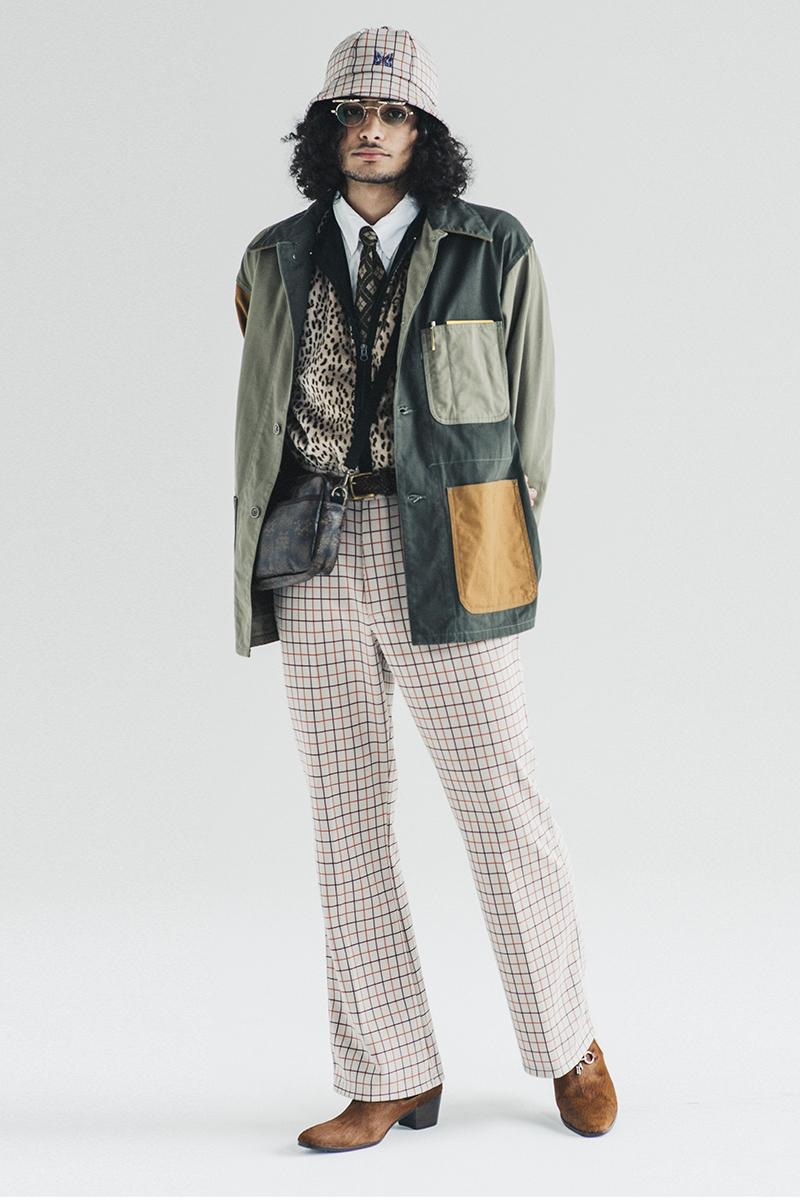 NEPENTHES FW20 Merry Pranksters Editorial lookbook menswear streetwear fall winter 2020 styles jackets coats needles south2 west8 aie engineered garments