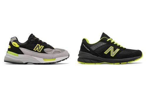 New Balance Highlights Made in the USA 992 and 990v5 With Neon Accents