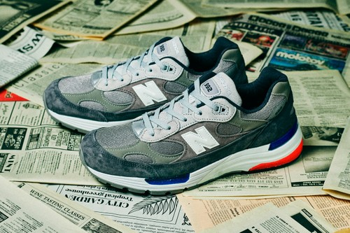 "New Balance's 992 ""Gray"" Receives Subtle U.S.A. Colors"