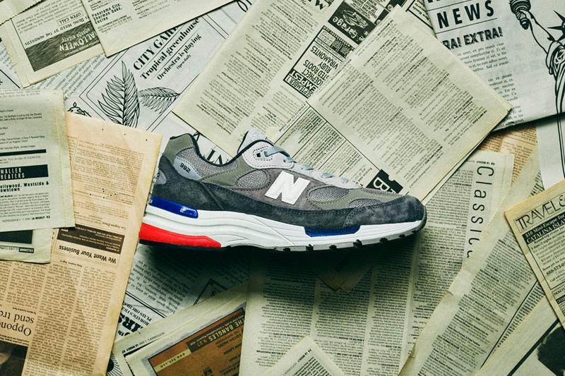 New Balance M992AG Gray menswear streetwear fall winter 2020 fw20 collection footwear shoes sneakers kicks trainers runners