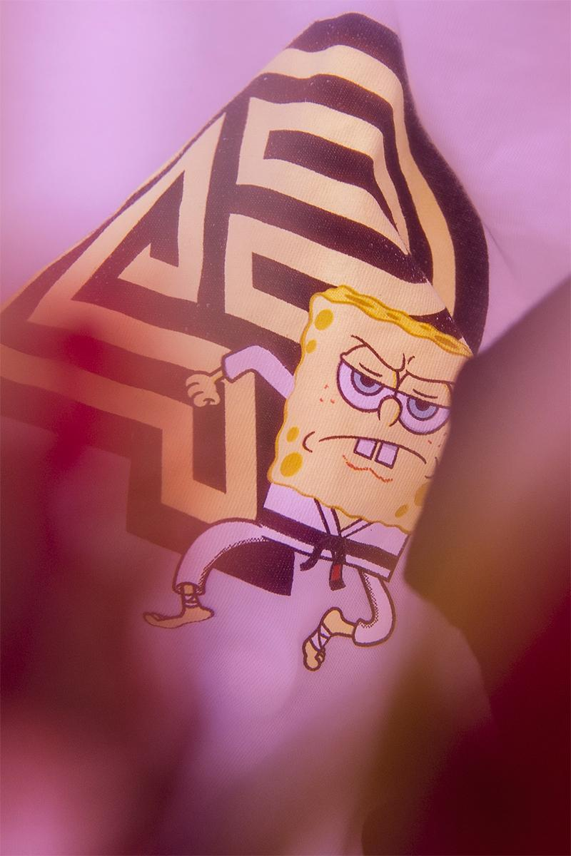Nickelodeon Spongebob Squarepants Albino & Preto Collection Release info Date Buy Price T shirt Gi