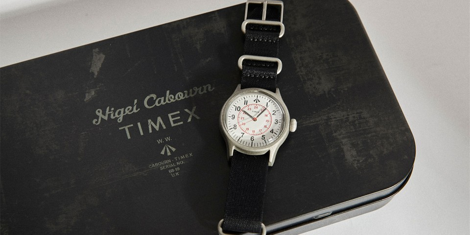 Nigel Cabourn and Timex Continue to Pay Tribute to the Military With Latest Naval Collab