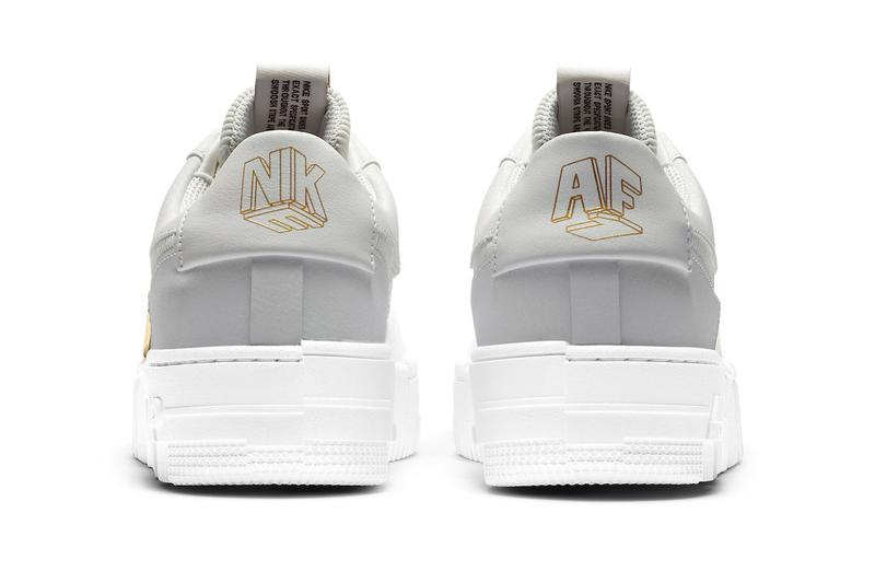 Nike Air Force 1 Low Pixel Summit White Womens Release Info dc1160-100 Date Buy Price