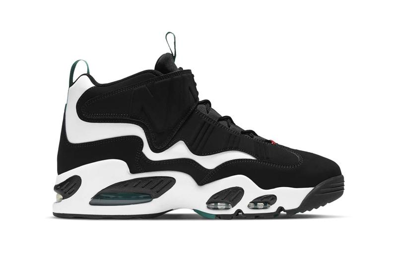 nike sportswear air ken griffey jr max 1 freshwater white black varsity red official release date info photos price store list buying guide