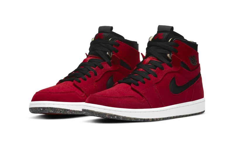Nike Air jordan 1 zoom Gym Red CT0978 600 menswear streetwear kicks trainers runners trainers footwear shoes sneakers fall winter 2020 collection fw20