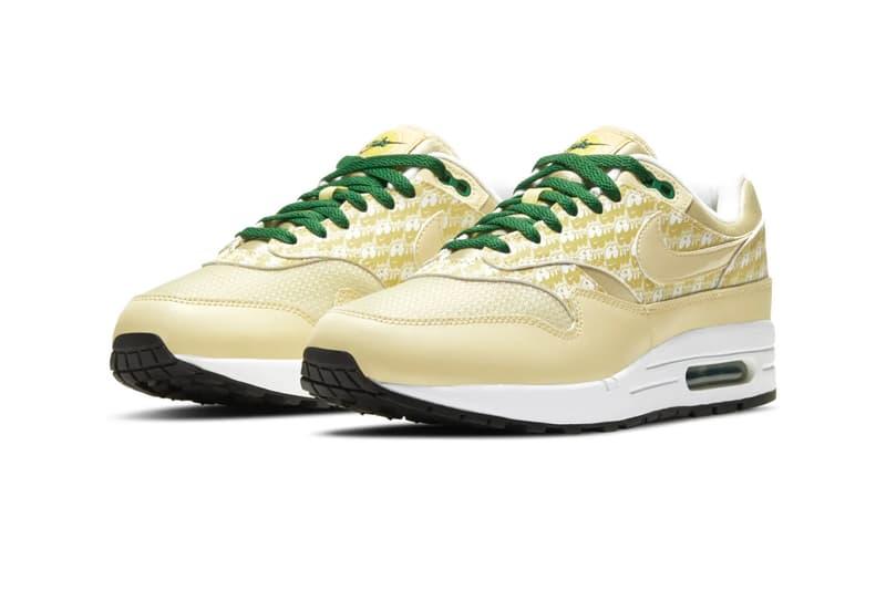 nike air max 1 chanh CJ0609 700 thời trang dạo phố nam mùa thu đông 2020 bộ sưu tập fw20 kick huấn luyện viên chạy bộ giày thể thao giày thể thao giày phát hành Ngày thông tin Mua