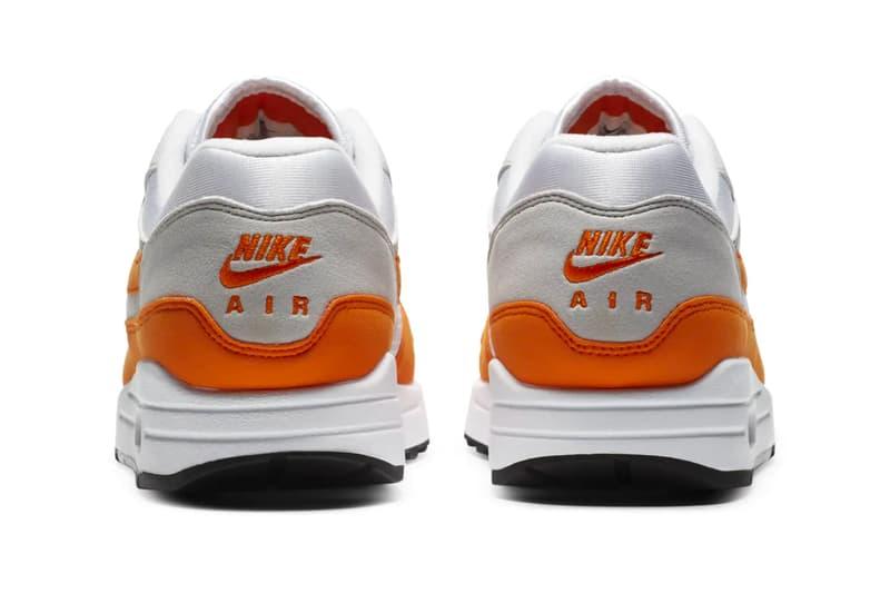 Nike Air Max 1 Magma Orange Release Info DC1454-101 Date Buy Price Anniversary Pack White Neutral Grey Black