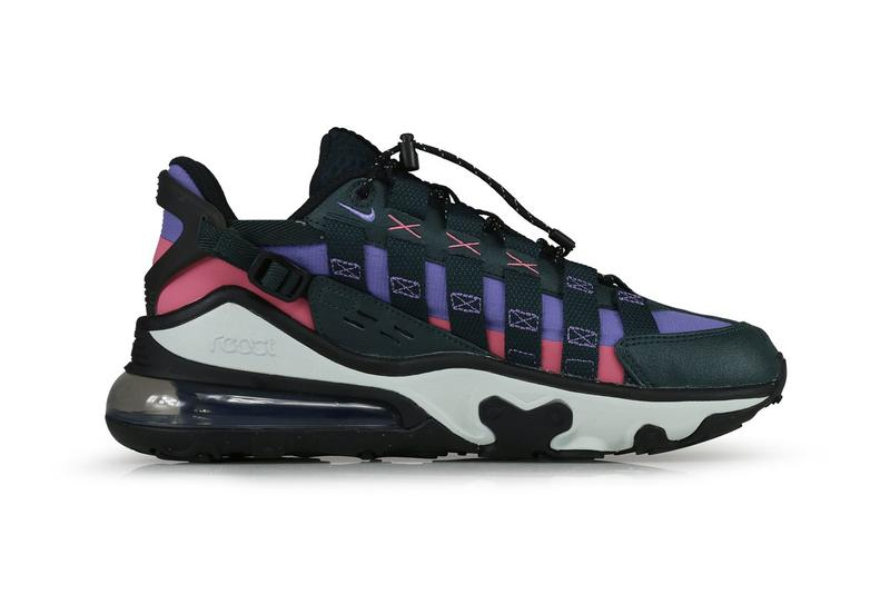"""Nike Air Max 270 Vistascape """"Black/Pink/Purple"""" cq7740300 Release Information Drop Date ACG Classic OG Colorway Closer First Look Chunky Technical Terrain Sneaker Shoe Trainer Footwear REACT"""