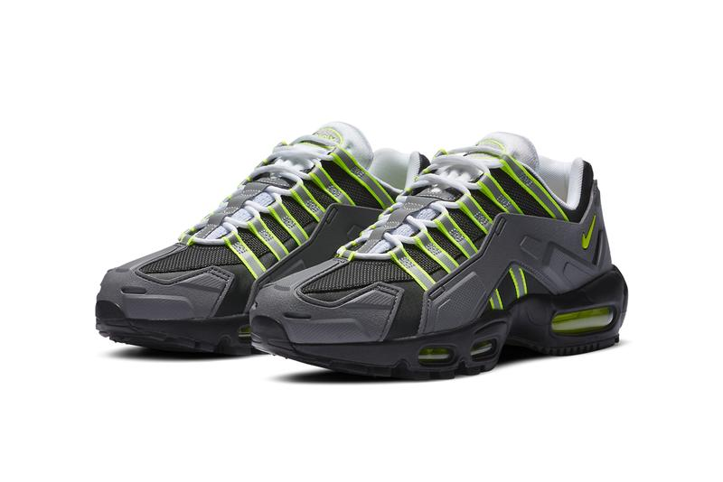 nike sportswear air max 95 ndstrkt neon yellow black medium grey CZ3591 002 official release date info photos price store list buying guide