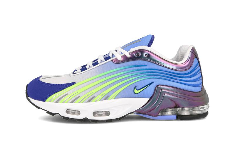 nike sportswear air max plus 2 ii valor blue ghost green deep royal CQ7754 400 official release date info photos price store list buying guide