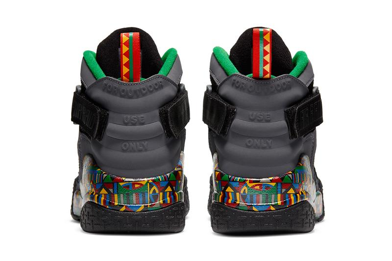 nike sportswear basketball air raid urban jungle gym dark grey multicolor pine green black blue yellow red DC1494 001 official 2020 release date info photos price store list buying guide