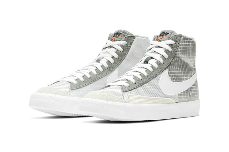 nike blazer mid 77 patch sneakers footwear shoes