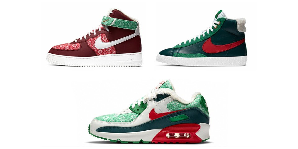 """Nike Sportswear Gets in the Holiday Spirit with Three-Shoe """"Nordic"""" Pack"""