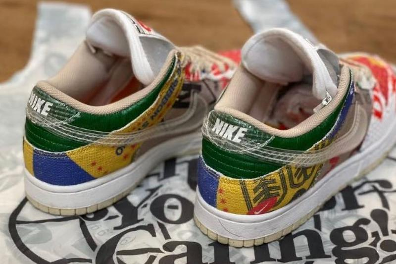 Nike Dunk Low SP Thank You For Caring First Look Release Info DA6125-900 Multi-Color Date Buy Price