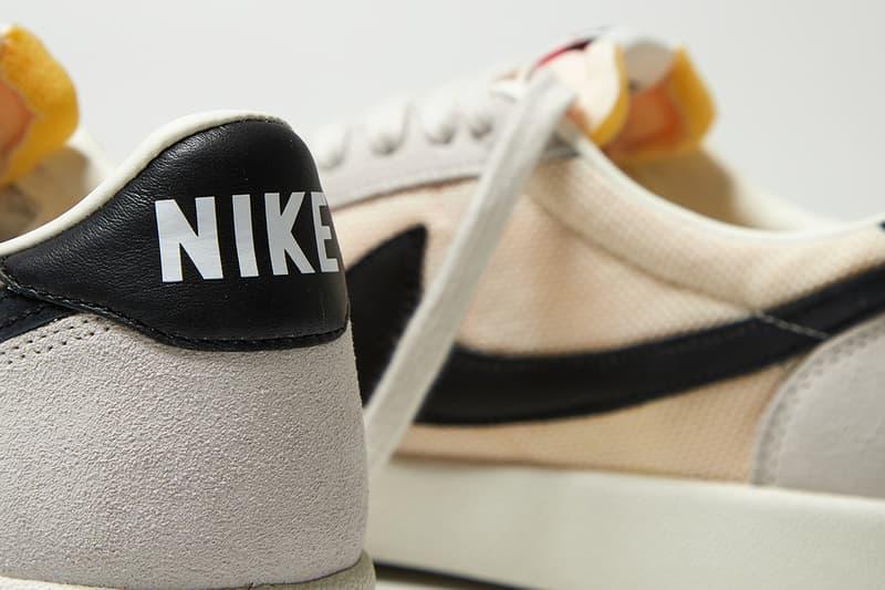 """Nike Killshot OG SP """"Beige/Black"""" Sneaker Release Information Aphrodite1994 Closer First Look Swoosh Old Skool Low Top Shoe Trainer Tennis Silhouette Minimal Clean Drop Date Shop Online Footwear dc762 100"""