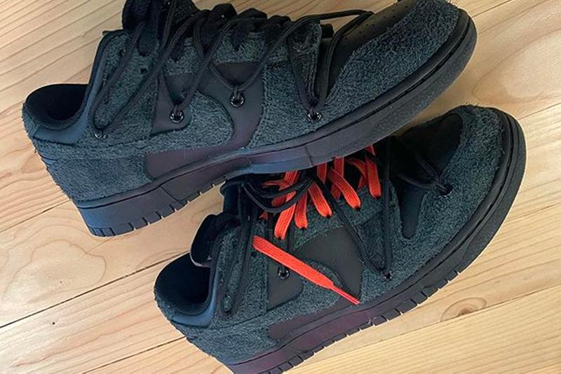 Off-White™ Nike Dunk Low Black First Look Release Info Virgil Abloh Date