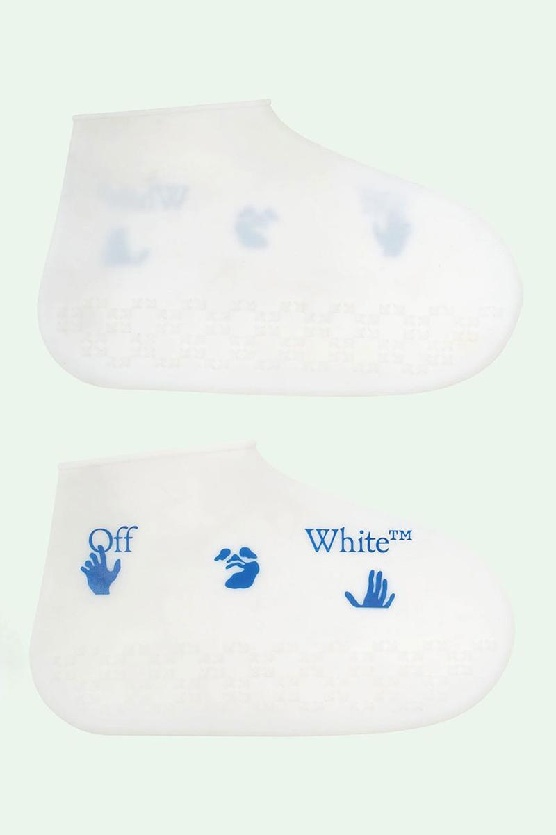 Off-White™ Silicone Shoe Cover With Printed Logo graphic branding sneaker price web store site