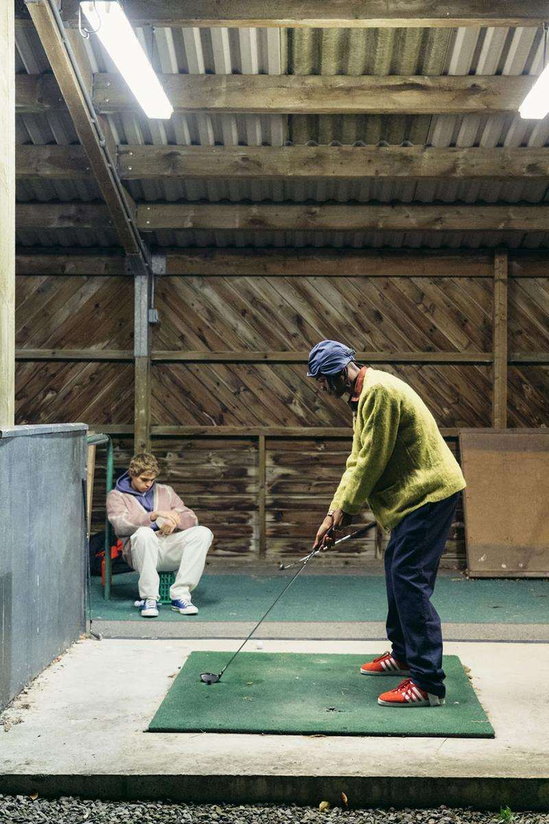 mohair cardigans oi polloi lyle and Scott release information golf editorial