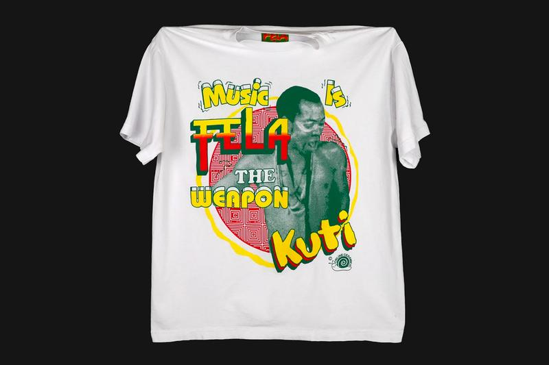 Online Ceramics Capsule Afrobeat Legend Fela Kuti tribute menswear streetwear t shirts long sleeves lps albums vinyl records nigerian african tote bag sticker waterbottle accessories