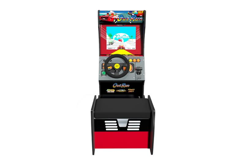 Arcade1Up Debuts First Driving Cabinet OutRun Turbo OutRun OutRunners Power Drift games titles sega nostaglic retro vintage gaming