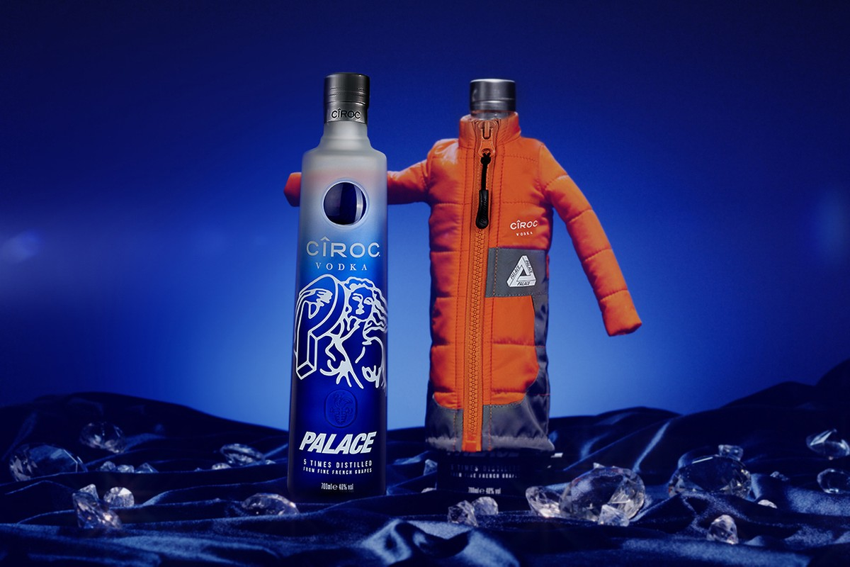 Palace and CÎROC Reunite for Special-Edition Bottles