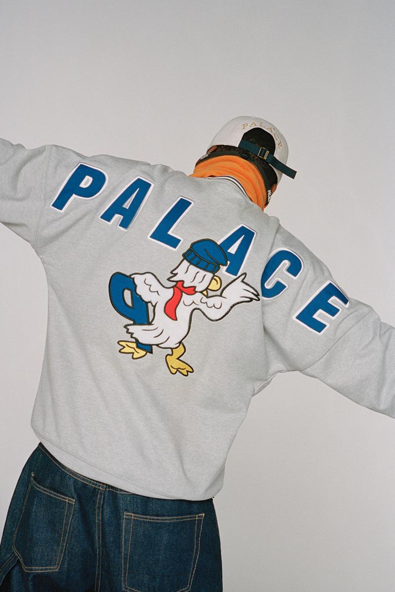 palace skateboards fall winter 2020 holiday Adidas firebird suburban bliss William Shakespeare  release information lookbook