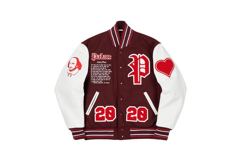 palace skateboards holiday 2020 jackets and outerwear William Shakespeare parka reversible