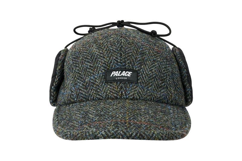 palace skateboards london winter 2020 week six drop list graphic t-shirt palafel polartec jacket tweed deerstalker hat release information