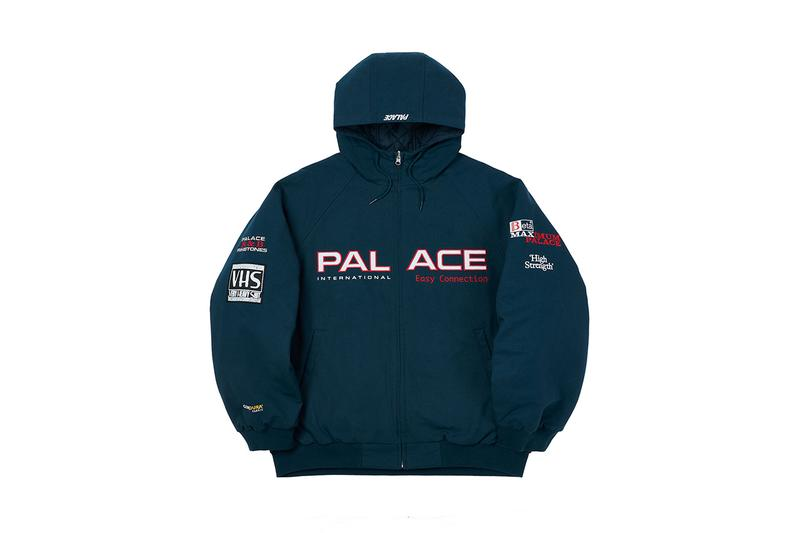 Palace skateboards holiday 2020 latest drop week 2 reversible coat accessories caps hats tracksuits fleece Christmas jumper