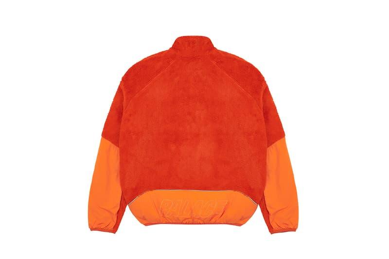 palace tracksuits holiday 2020 release information orange fleece white black matching