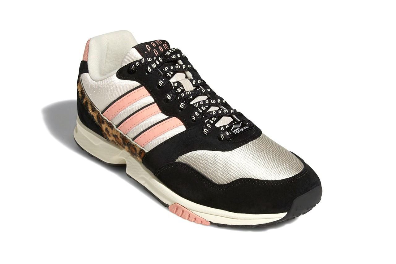pam pam adidas zx 1000 collaboration white pink black cheetah FZ0829 release date info photos
